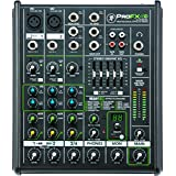 Mackie PROFX4V2 4-Channel Compact Mixer with USB and Effects