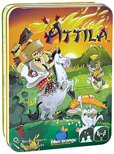 Blue Orange Attila by Bruno Faidutti Board Game