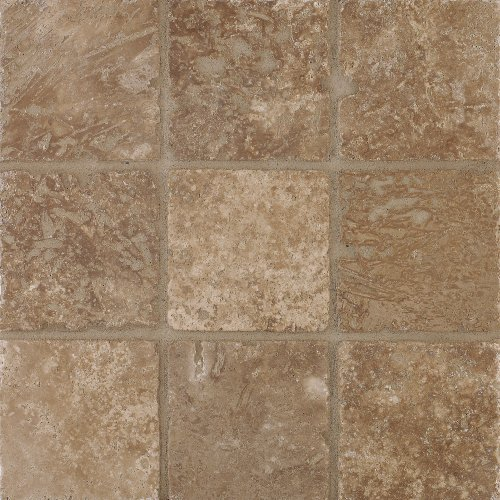 Arizona Tile 6 By 6 Inch Tumbled Travertine Tile Mexican