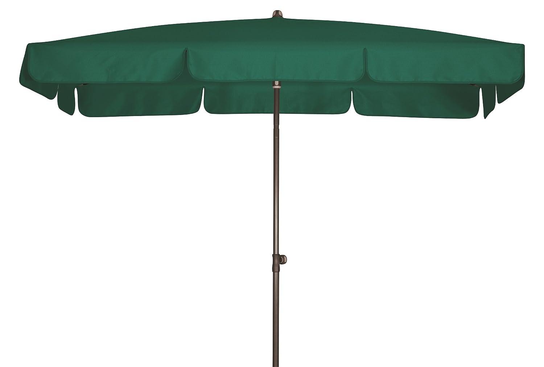 Absolut wasserdichter Gartenschirm Waterproof 185x120 von Doppler mit UV-Schutz 80, Farbe dunkelgrün
