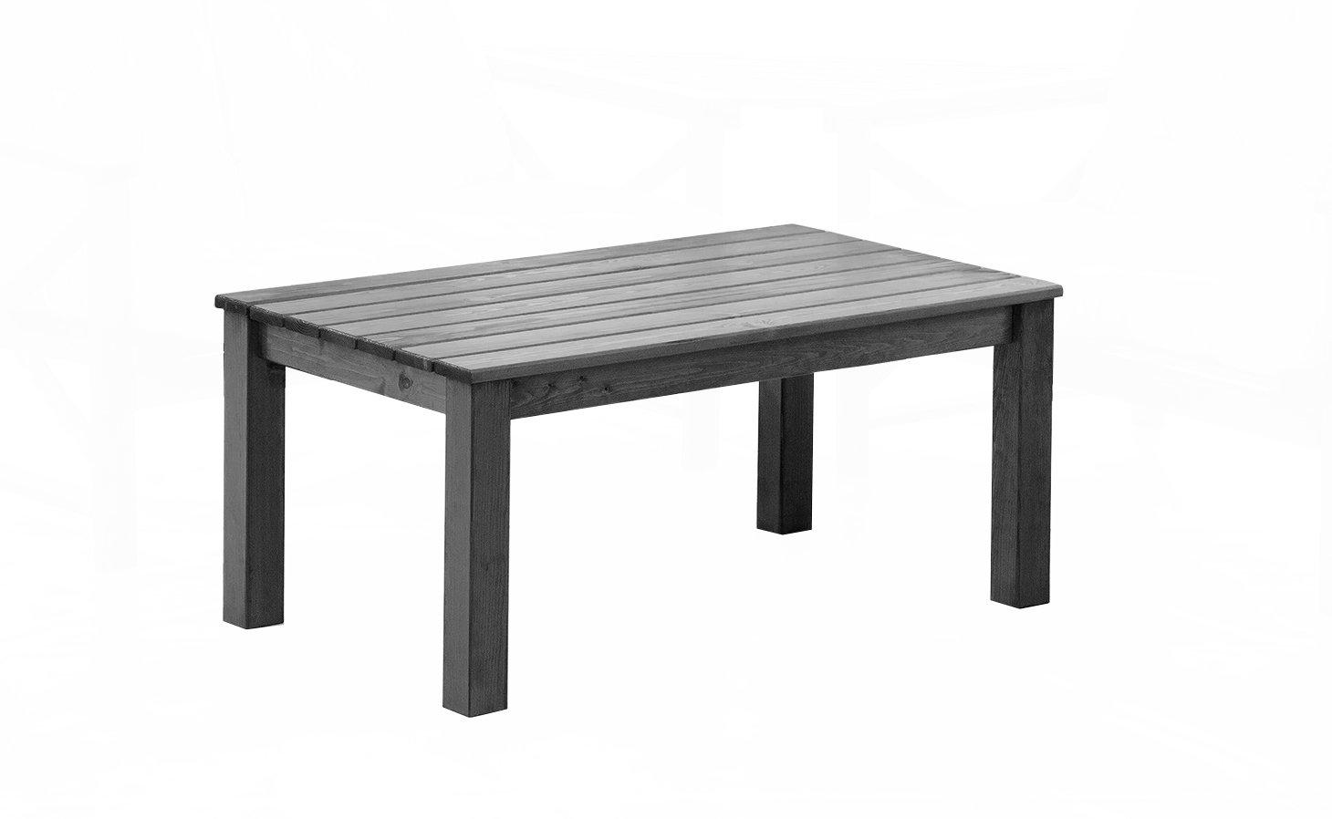 Ambientehome Loungetisch OSLO, 110 x 67 x 50 cm, grau