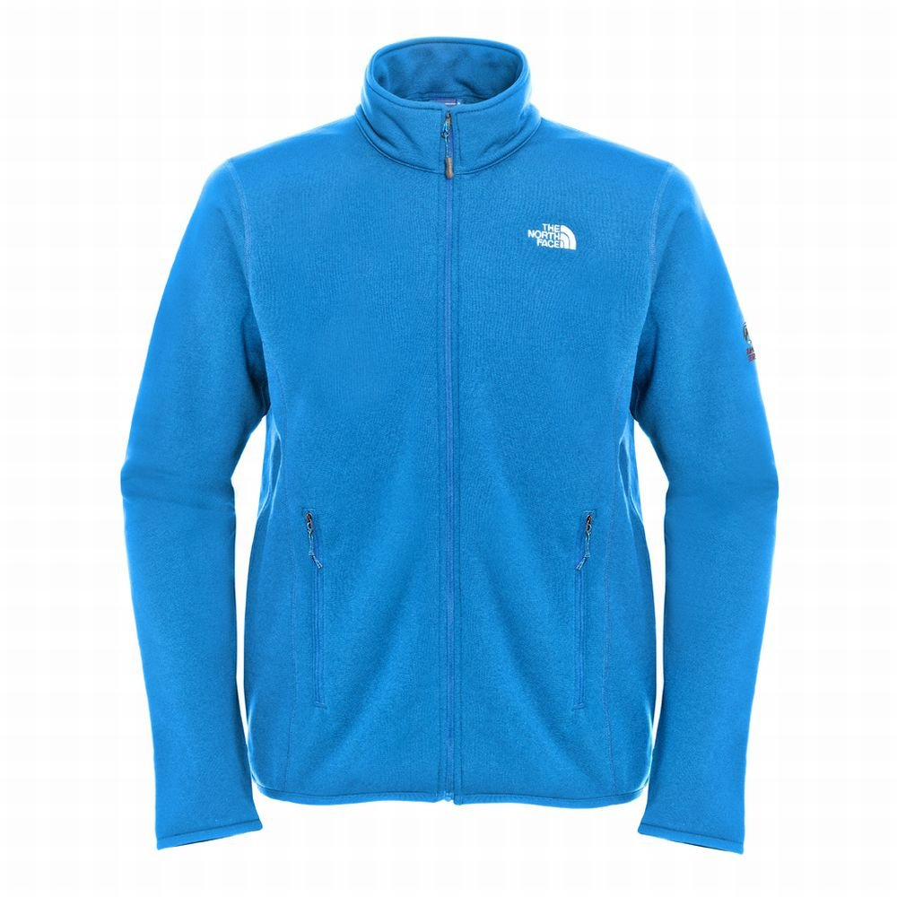 The North Face fleecejacke Men's Flux Power Stretch Jacket athens blue jetzt kaufen