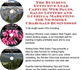 img - for The Guerilla Marketing, Building Effective Lead Capture Web Pages, Sales Letters for No-Smoke Charcoals Businesses book / textbook / text book
