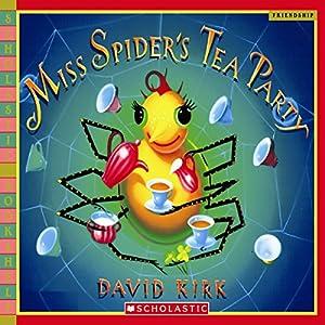 Miss Spider's Tea Party Audiobook