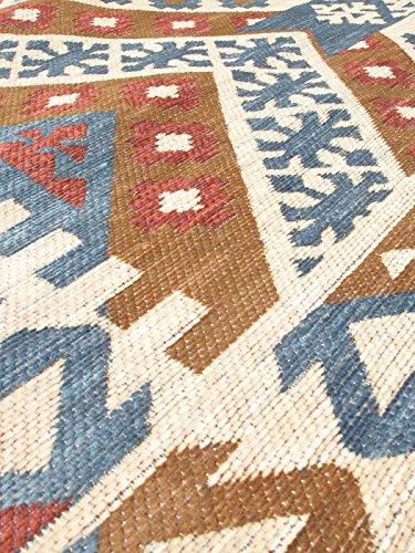 Ecarpetgallery Traditional Portico Geometric 4' x 6' Ivory living room dining room arearug
