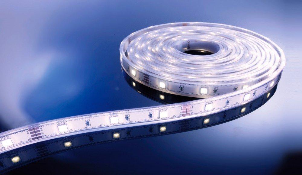 KapegoLED Flexibler LED Stripe, 5050, SMD, 12 V DC, 36 W, kaltweiß 840096