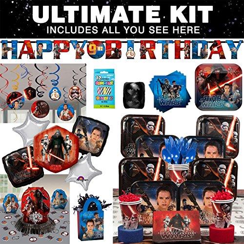 Star Wars Episode VII Ultimate Kit( Serves 8)