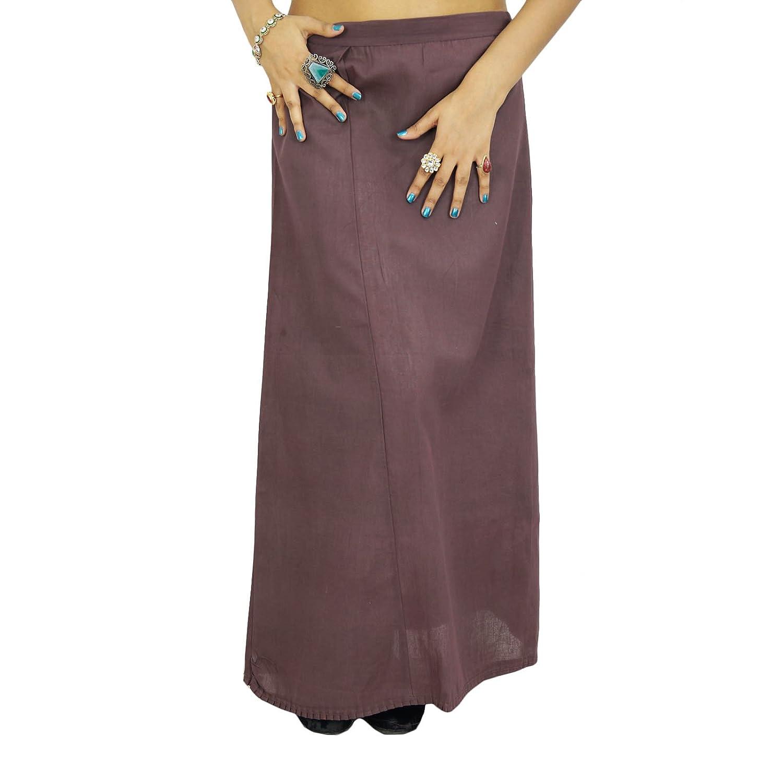 Fest Petticoatunderskirt Bollywood indische Frauen tragen Baumwollfutter für Sari jetzt kaufen
