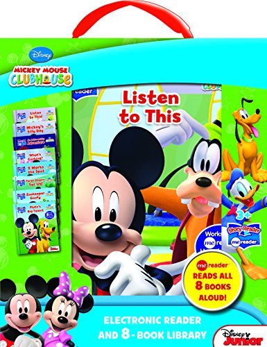 Mickey-Mouse-Clubhouse-Electronic-Reader-and-8-Book-Library-Story-Reader-ME-Reader