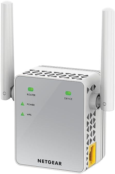 Netgear EX3700-100PES Répéteur Wi-Fi AC750 Mbps Blanc