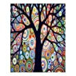 Creative Beautiful Modern Art Canvas Wall Art - Abstract Art Watercolor Painting Landscape Tree Canvas Print 16\