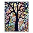Creative Beautiful Modern Art Canvas Wall Art - Abstract Art Watercolor Painting Landscape Tree Canvas Print 16\