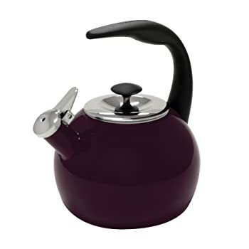 The Purple 2- Quart Chantal Memory Tea Kettle