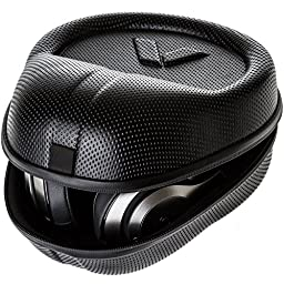 Headphone Case - Full Size Hardshell Earphone Headset Ultimate Protection For Beats Pro Solo2 Bose 35 Quiet Comfort Audio Technica M50x Sony MDR7506 Sennheiser HD 518 Philips Beyerdynamic AKG + More!