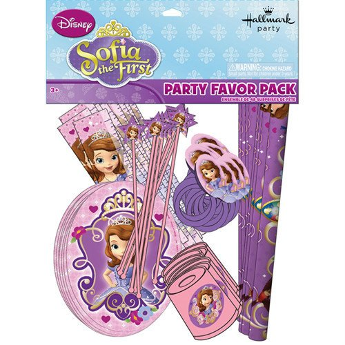 Sofia the First Princess Party Favor Pack 48 Piece Pack