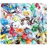 Sanlise(TM) HOT Brand New Cute Lots 50 pcs 3-6 cm Pokemon Mini Random Pearl ct Figures