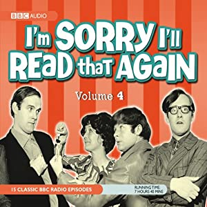 I'm Sorry I'll Read that Again, Volume 4 Radio/TV Program