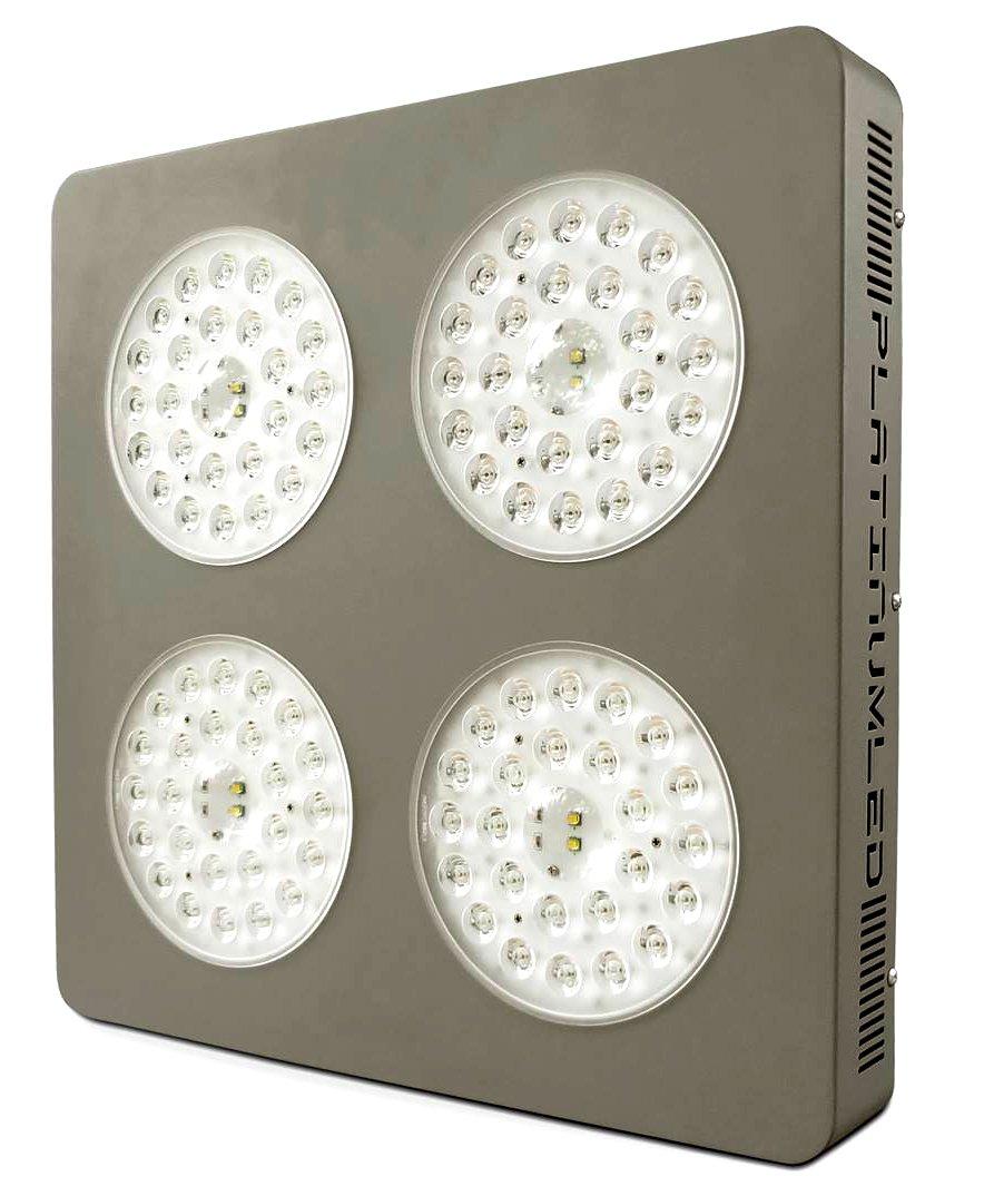 led grow light cree 10w xm l2 w dual veg flower full spectrum 2016. Black Bedroom Furniture Sets. Home Design Ideas