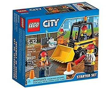 LEGO City - 60072 - Jeu De Construction - Ensemble De Démarrage De Démolition