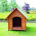 Apex Roof Wooden Dog Kennel - extra-Large
