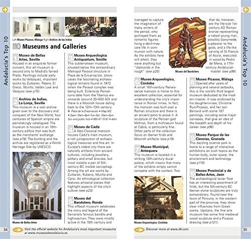 DK Eyewitness Travel Top 10 Andalucia & Costa Del Sol [With Pull-Out Map] (Dk Eyewitness Top 10 Travel Guides. Andalucia and Costa Del Sol)