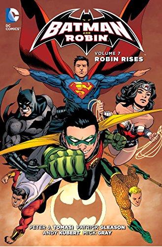 Batman and Robin Vol. 7: Robin Rises (The 52) (Batman & Robin (Numbered)) at Gotham City Store
