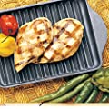 """Bon Chef 2082T Tempo Aluminum Large Grill Pan for Conveyer Oven, 19"""" Length x 15"""" Width (Pack of 6)"""