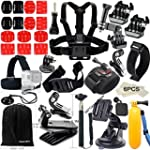 FUNNYKIT Accessoires pour GoPro Hero...