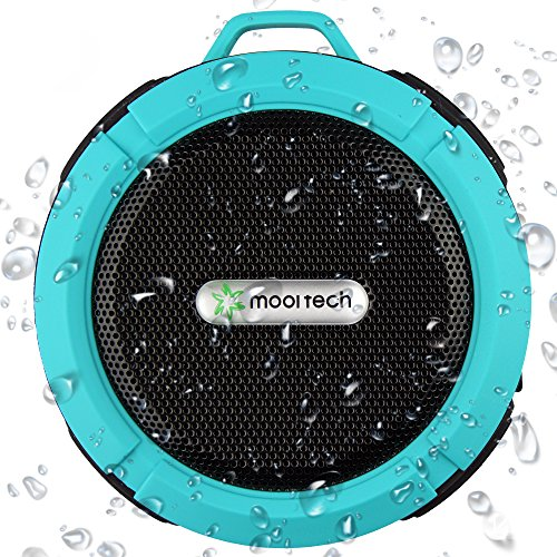 Bluetooth Shower Speaker, Best Portable Waterproof Speaker Also Ideal for Outdoor, FREE BONUS and Money Back Guarantee, Wireless Speakerphone and Pairs with ALL Mobile Phones and Tablets, Lifetime Satisfaction Guarantee!