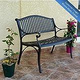 Grace Metal Garden Bench