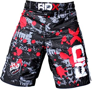 Authentic RDX Gel Fight Shorts UFC MMA Grappling Short Boxing NHB from RDX
