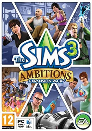 The Sims 3: Ambitions (PC/Mac DVD) [Edizione: Regno Unito]