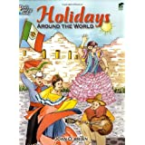 Holidays Around the World (Dover Holiday Coloring Book) ~ Joan O'Brien