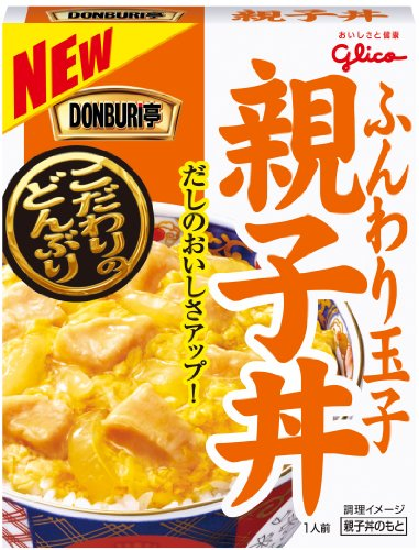 グリコ DONBURI亭 親子丼 210g×10個