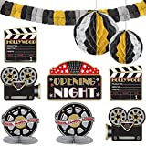 Hollywood Party Decorating Kit (Color: Multicolor, Tamaño: Multi Sizes)