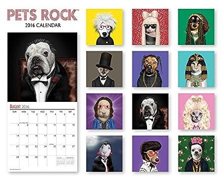 Pets Rock 2016 Calendar