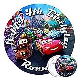 Disney Cars Edible Cake Topper 7.5