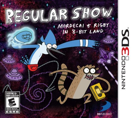 Regular Show: Mordecai and Rigby in 8-bit Land - Nintendo 3DS - 1