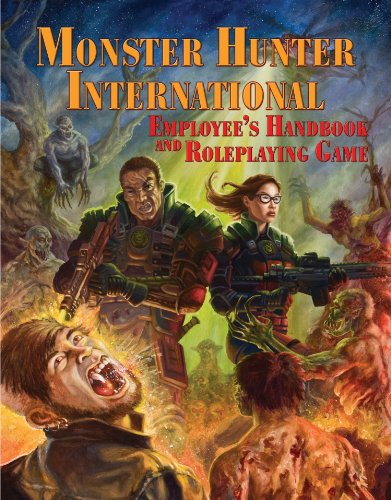 The Monster Hunter International Employee Handbook and Roleplaying Game