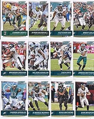 Philadelphia Eagles - 2016 Score Football 14 Card Team Set w/ Rookies (PLUS 1 Special Insert Card)