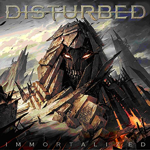CD : Disturbed - Immortalized [Deluxe Version] [Limited Edition] [Explicit Content] (Limited Edition, Deluxe Edition)