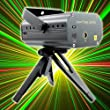 PMS� Mini Red and Green Stars Laser Stage Lighting Light Projector Sound/ Music Active DJ Equipment for Disco Bar KTV Club Party