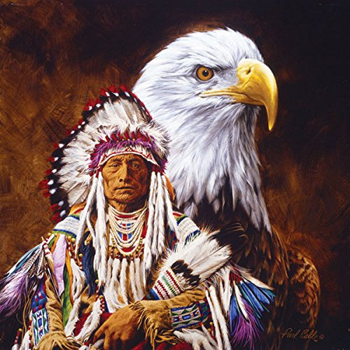 Spirit of the Eagle a 500-Piece Jigsaw Puzzle by Sunsout Inc.