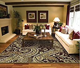 Large 8x11 Contemporary Art Rug Living Room Size Area Rugs 8x10 Clearance Under 100 Bed Room Rugs Office Rugs Tree Leaf Desing Carpet