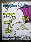 img - for Machine Quilting Unlimited March/April 2014 Scottish Techniques, Trapunto, Thread Storage Options book / textbook / text book