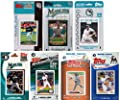 MLB Florida Marlins 7-Different Licensed Trading Card Team Set