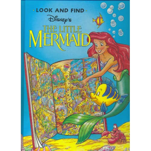 Disney's the Little Mermaid (Look and Find)