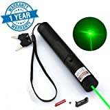Green Laser Pointer High Power Hunting Rifle Scope Sight Laser Pen, Remote Laser Pointer Travel Outdoor Flashlight, LED Interactive Baton Funny Laser Pointer Toy. (Color: green)
