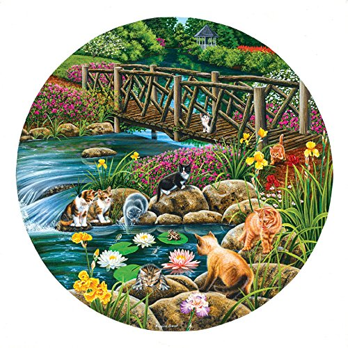 Field Cats 1000 Piece Jigsaw Puzzle by Sunsout Inc.