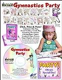 ScrapSMART - Gymnastics Party Kit - Jpeg, PDF, MS Word files (CDGYMP179)